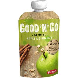 12kpl Good'n'Go Omena & kaneli kaurasmoothie 120g