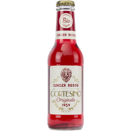 12kpl Cortesino Originale 1959 Ginger Rosso virvoitusjuoma  luomu 200ml