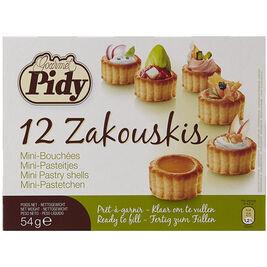 12kpl - Pidy Zakouskis leivoskuppipohja 54g
