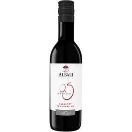 12kpl Viña Albali Cabernet Tempranillo alkoholiton punaviini 18,7cl