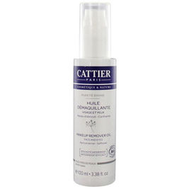 Cattier Paris Pureté Divine Makeup Remover Oil kasvojenpuhdistusöljy 100ml