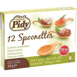 12kpl - Pidy Spoonettes täytettävä lusikkatartaletti 42g