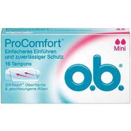 16kpl - o.b. ProComfort Mini tamponi