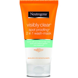 Neutrogena Visibly Clear Spot Proofing 2in1 Wash-Mask puhdistusnaamio 150ml