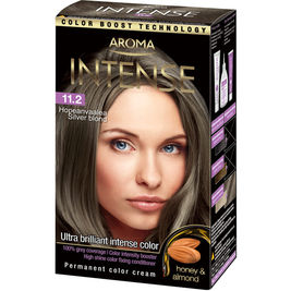 Aroma Intense 11.2 Hopeanvaalea hiusväri 130ml