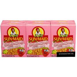 6kpl - Sun-Maid Sour Golden mansikanmakuinen kirpeä rusina 37,7g