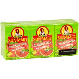 6kpl - Sun-Maid Sour Golden vesimeloninmakuinen kirpeä rusina 37,7g