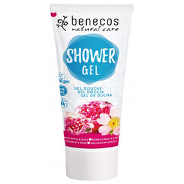 Benecos Shower Gel Pomegranate & Rose suihkugeeli 200ml