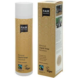 Fair Squared Almond Liquid Soap Sensitive nestesaippua 250ml