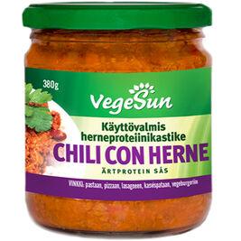 6kpl VegeSun Chili con Herne herneproteiinikastike 380g