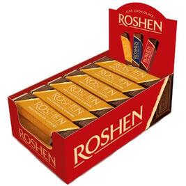 30kpl - Roshen Chocolate & Caramel täytesuklaapatukka 40g