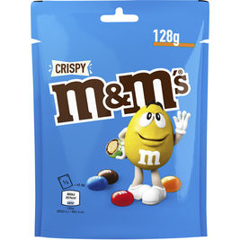 M&M'S Crispy Choco maitosuklaarakeet 128g
