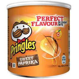 12kpl Pringles Paprika perunalastu 40g