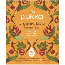 Pukka Organic Latte Ginger Joy juomajauhe luomu 90g