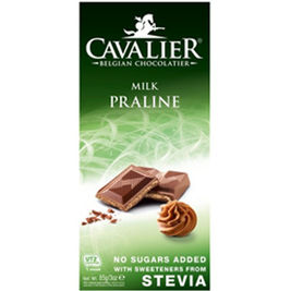 Cavalier Milk Praline maitosuklaalevy 85g