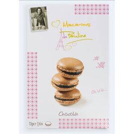 Macarons de Pauline suklaamacaroneja 72g