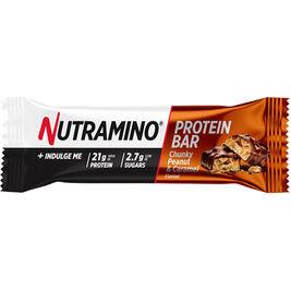 12kpl Nutramino Chunky Peanut & Caramel proteiinipatukka 60g