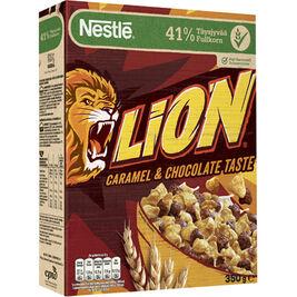 Nestlé Lion Caramel & Chocolate vehnä-riisimuro 350g