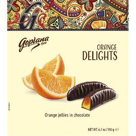 Goplana Orange Delights appelsiinisuklaa 190g
