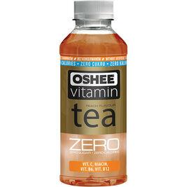 6kpl Oshee Vitamin Tea Zero persikka vitaminoitu teejuoma 555ml