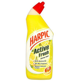 Harpic Active Gel Lemon wc-puhdistusaine 750ml