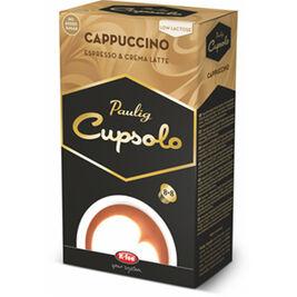 8kpl - Paulig Cupsolo Cappuccino maitokahvikapseli 8 annosta