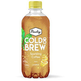 12kpl Paulig Cold Brew Sparkling Coffee Lemon kahvivirvoitusjuoma 400ml