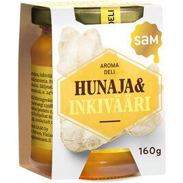 Sam Aroma Deli Hunaja & Inkivääri 160g
