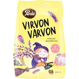 Panda Virvon Varvon suklaapatukka 209g