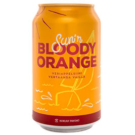 24kpl Sun'n Bloody Orange virvoitusjuoma 0,33l