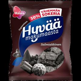 Malaco Hyvää Makumaasta Salmiakkinen makeissekoitus 160g