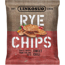 Linkosuo Rye Chips Sweet Chili ruissipsi 150g