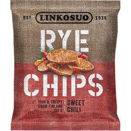 Linkosuo Rye Chips Sweet Chili ruissipsi 150g