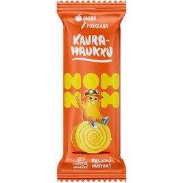 16kpl NOMNOM Kaurahaukku omena-porkkana kaurapatukka 20g