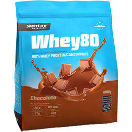 SportLife Whey80 Chocolate heraproteiinijauhe 1kg