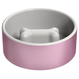 Happy Pet Project Slow Feed Bowl ruokakulho koiralle L pinkki