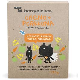 BerryPicker omena+porkkana täysjyvämuro 250g