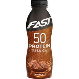 12kpl FAST Protein Shake 50 suklaa 500ml