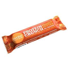 24kpl Evoke Protein Crunch Peanut Butter vegaaninen proteiinipatukka 42g