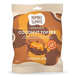 Humble Yummys suklaa kookostoffee luomu 150g