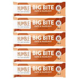 5kpl - Humble Big Bite Oat & Hazelnut hasselpähkinä kauravälipala 30g