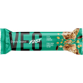 FAST VEG Crunchy Coconut proteiinipatukka vegaaninen 50g