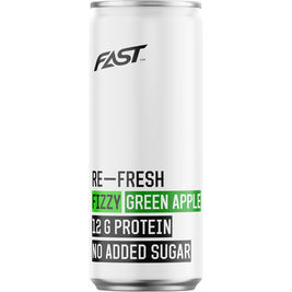 FAST Re-Fresh Fizzy Green Apple virvoitusjuoma 330ml
