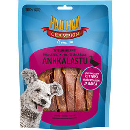 Hau-Hau Champion Täyslihaherkut Ankkalastu koiranherkku 180g