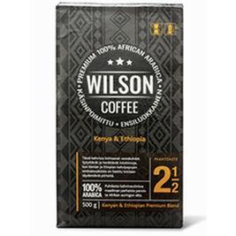 Wilson Coffee Kenya & Ethiopia suodatinkahvi 500g