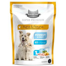 Hau-Hau Champion Super Premium Kana-peruna täysravinto koiralle 1,5kg