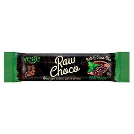 Vegeway RawChoco Mint & Cacao Nibs tummasuklaapatukka 35g