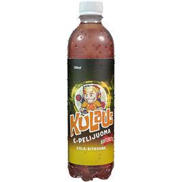 Kulaus E-pelijuoma Cola-Sitruuna hiilihapotettu mehujuoma 500ml