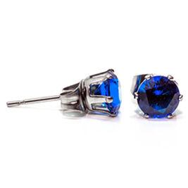Hopea-Puro Kivi korvakorut sininen 6mm