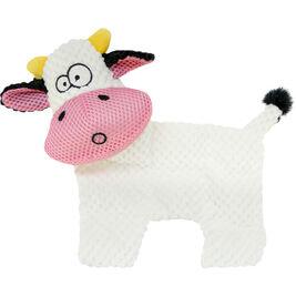 Boogie litteä lehmä koiranlelu